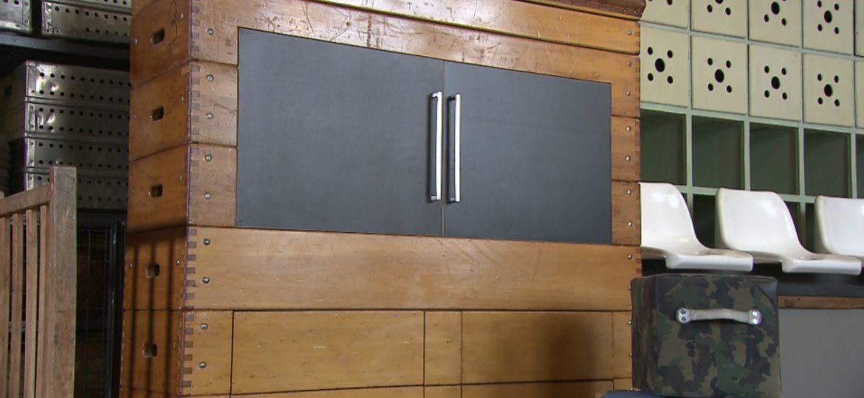 kabel eins – Designermöbel aus Turngeräten